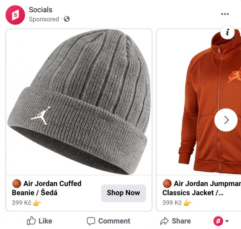 dynamický remarketing na facebooku