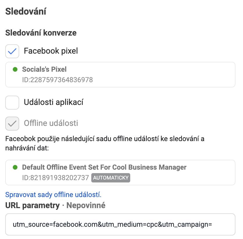 facebook pixel a UTM