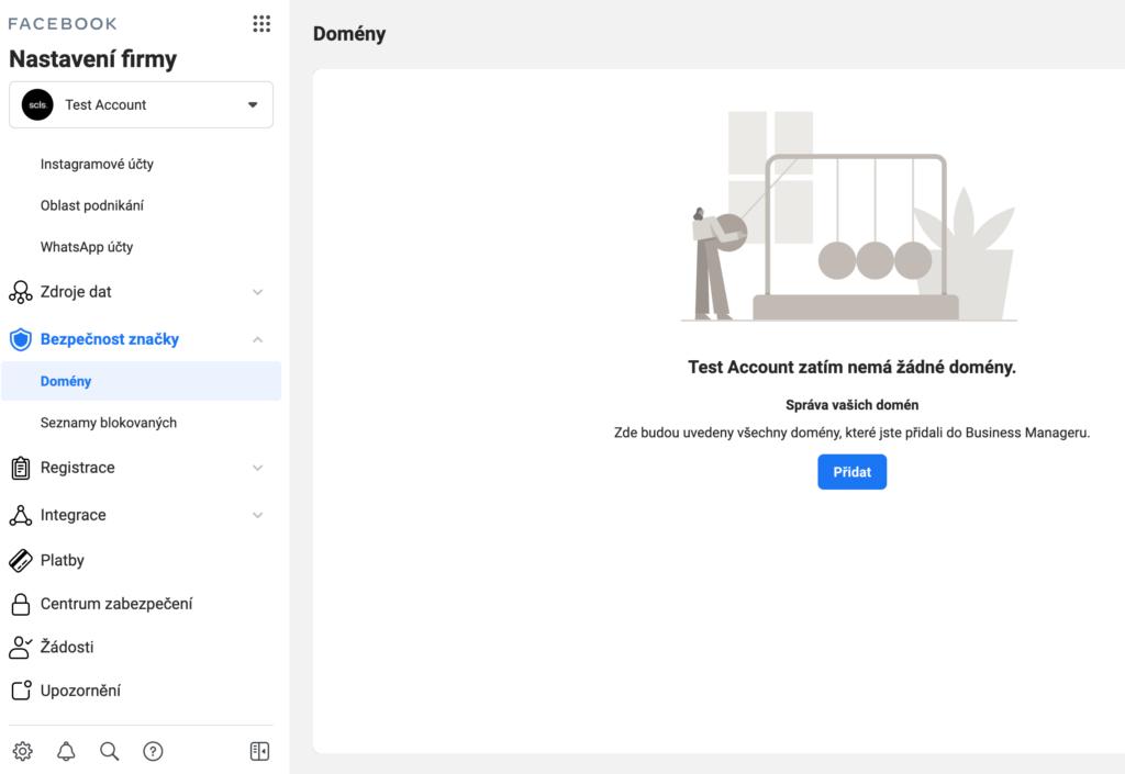 verifikace domeny na facebooku 2